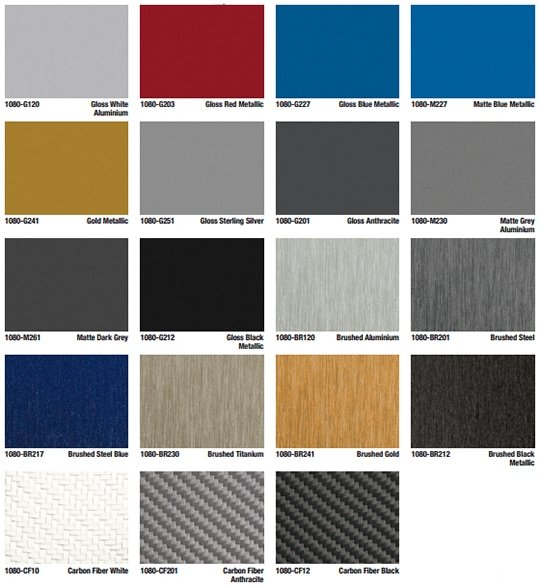 color options film types for vinyl vehicle wraps dedona tint sound. Black Bedroom Furniture Sets. Home Design Ideas