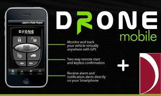 DroneMobile from DeDona