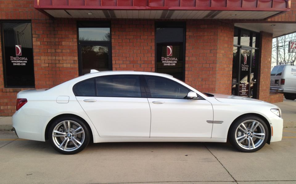 bmw window tint