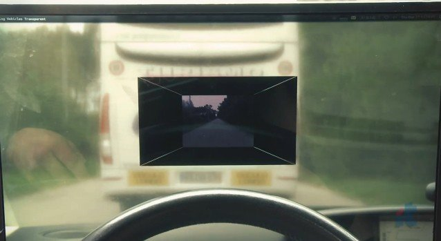 see-through camera system